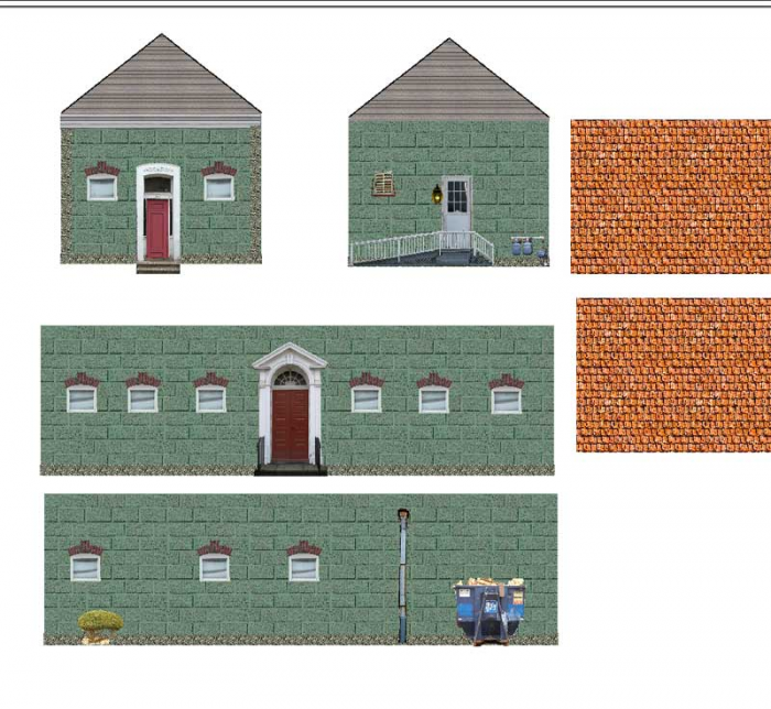 It's just an image of Amazing Free Printable Model Railway Buildings